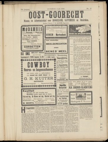 (Volksblad) Oost-Goorecht en Omstreken nl 1936-07-04