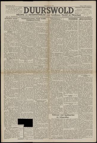 Nieuws- en Advertentieblad, Duurswold nl 1943-06-05