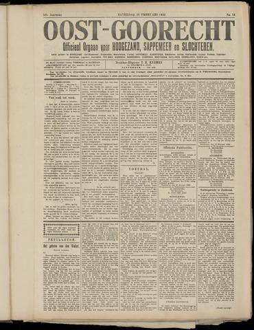 (Volksblad) Oost-Goorecht en Omstreken nl 1922-03-11