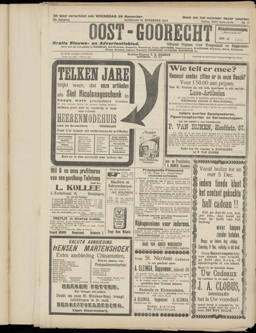 (Volksblad) Oost-Goorecht en Omstreken nl 1933-11-25