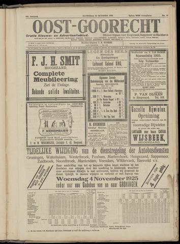 (Volksblad) Oost-Goorecht en Omstreken nl 1925-10-31