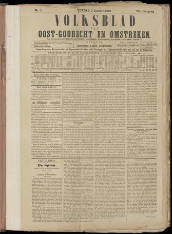 (Volksblad) Oost-Goorecht en Omstreken nl 1892
