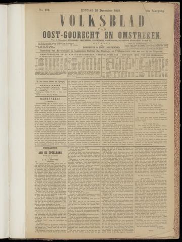 (Volksblad) Oost-Goorecht en Omstreken nl 1892-12-25
