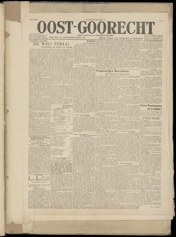 (Volksblad) Oost-Goorecht en Omstreken nl 1945-12-19