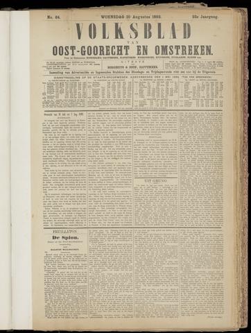 (Volksblad) Oost-Goorecht en Omstreken nl 1892-08-10
