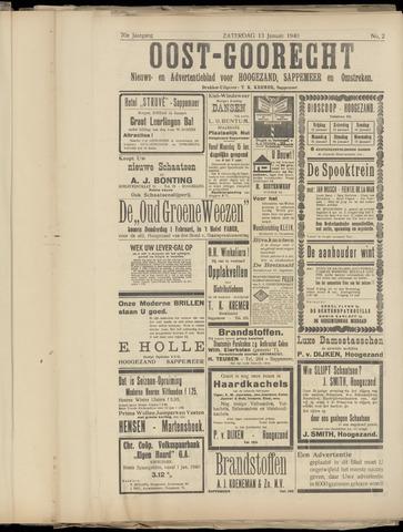 (Volksblad) Oost-Goorecht en Omstreken nl 1940-01-13