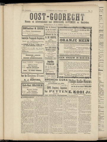 (Volksblad) Oost-Goorecht en Omstreken nl 1937-02-13