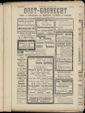 (Volksblad) Oost-Goorecht en Omstreken nl 1939-08-12