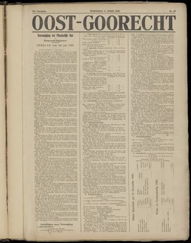 (Volksblad) Oost-Goorecht en Omstreken nl 1921-04-06