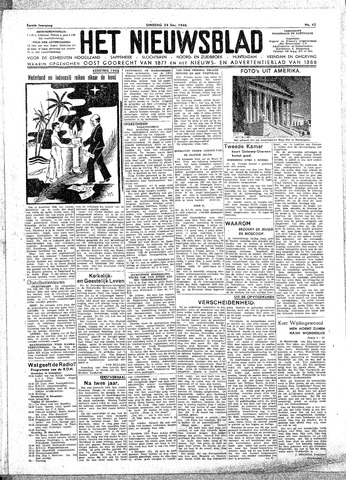Het Nieuwsblad nl 1946-12-24