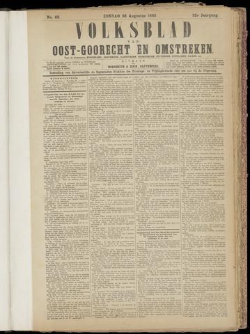 (Volksblad) Oost-Goorecht en Omstreken nl 1892-08-28