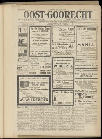 (Volksblad) Oost-Goorecht en Omstreken nl 1940-11-23
