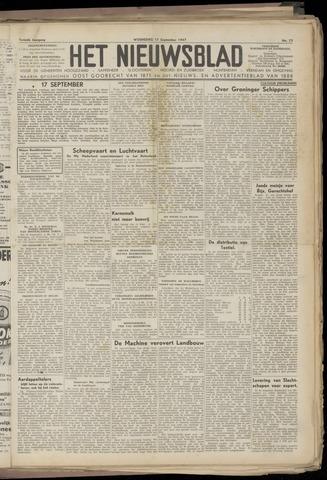 Het Nieuwsblad nl 1947-09-17