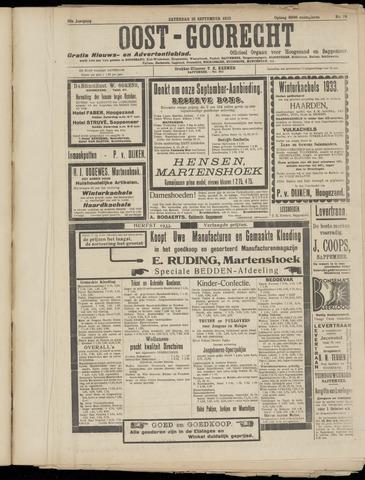 (Volksblad) Oost-Goorecht en Omstreken nl 1933-09-28