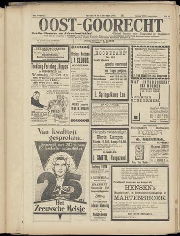 (Volksblad) Oost-Goorecht en Omstreken nl 1932-08-20