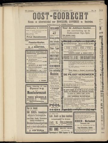 (Volksblad) Oost-Goorecht en Omstreken nl 1938-08-27
