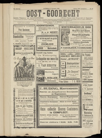 (Volksblad) Oost-Goorecht en Omstreken nl 1935-10-26