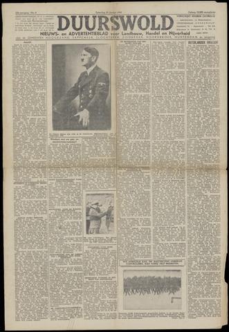 Nieuws- en Advertentieblad, Duurswold nl 1943-01-30