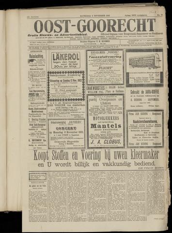 (Volksblad) Oost-Goorecht en Omstreken nl 1922-11-04