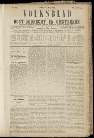 (Volksblad) Oost-Goorecht en Omstreken nl 1892-05-01