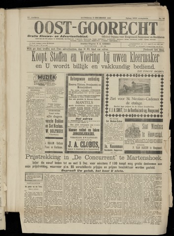 (Volksblad) Oost-Goorecht en Omstreken nl 1922-12-02