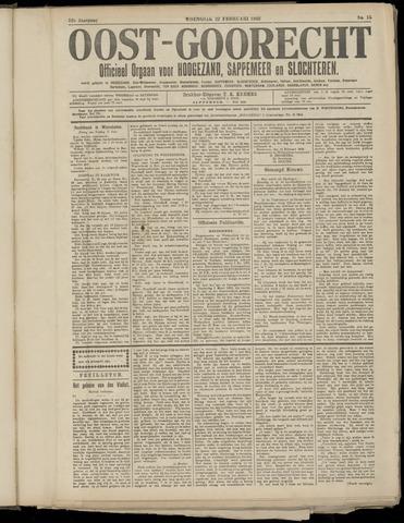 (Volksblad) Oost-Goorecht en Omstreken nl 1922-03-18