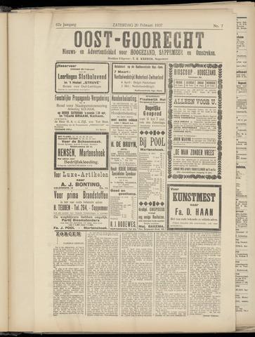 (Volksblad) Oost-Goorecht en Omstreken nl 1937-02-20