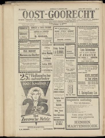 (Volksblad) Oost-Goorecht en Omstreken nl 1932-08-27