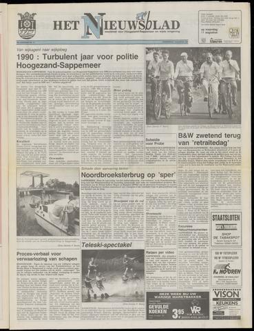 Het Nieuwsblad nl 1991-08-01