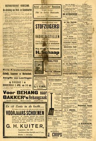 Nieuws- en Advertentieblad, Sappemeer nl 1941-03-29