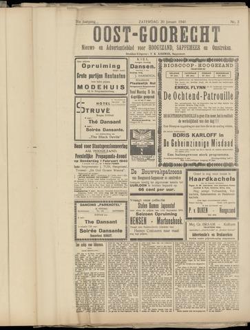 (Volksblad) Oost-Goorecht en Omstreken nl 1940-01-20