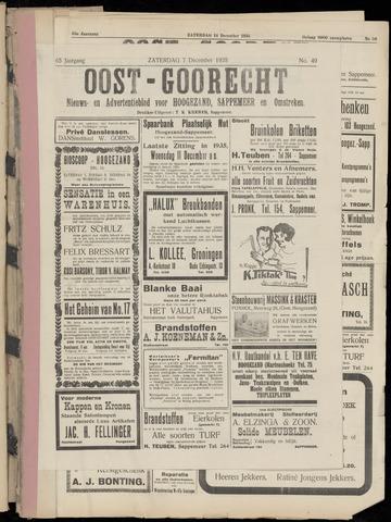 (Volksblad) Oost-Goorecht en Omstreken nl 1935-11-30