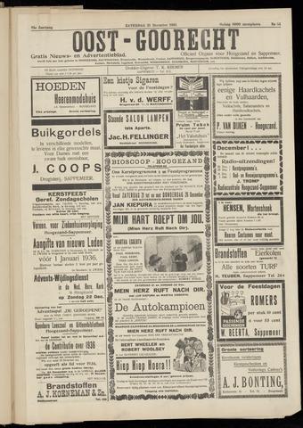 (Volksblad) Oost-Goorecht en Omstreken nl 1935-12-14