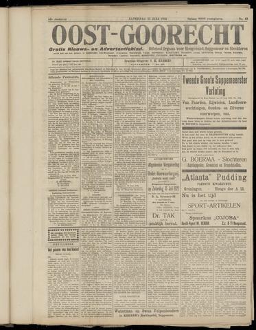 (Volksblad) Oost-Goorecht en Omstreken nl 1922-07-15