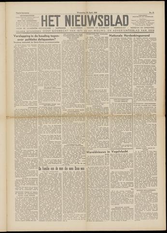 Het Nieuwsblad nl 1949-04-20