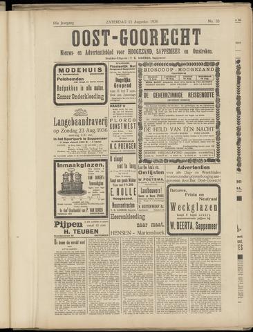 (Volksblad) Oost-Goorecht en Omstreken nl 1936-08-15