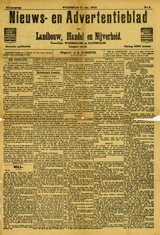 Nieuws- en Advertentieblad, Sappemeer nl 1912-01-17