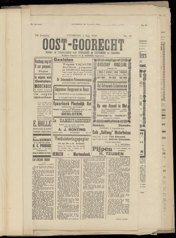 (Volksblad) Oost-Goorecht en Omstreken nl 1940-08-03