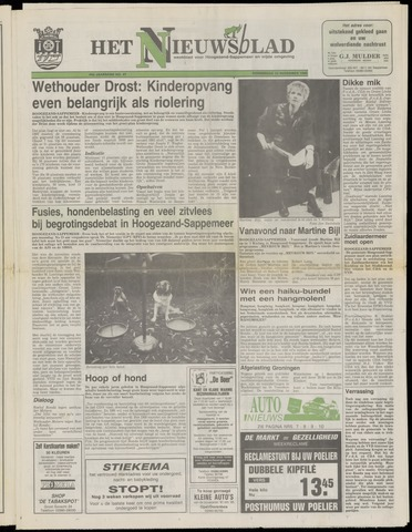 Het Nieuwsblad nl 1990-11-22