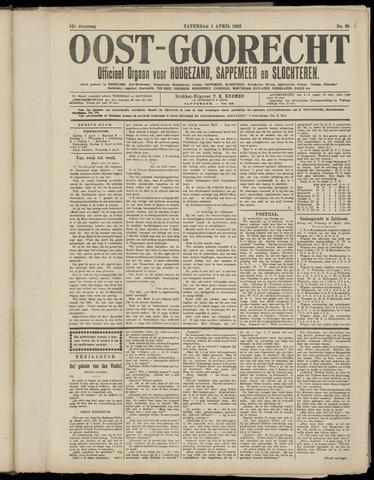 (Volksblad) Oost-Goorecht en Omstreken nl 1922-04-29