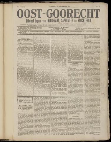 (Volksblad) Oost-Goorecht en Omstreken nl 1921-09-10