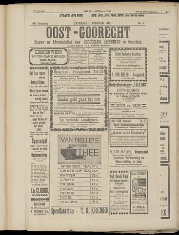 (Volksblad) Oost-Goorecht en Omstreken nl 1933-02-11