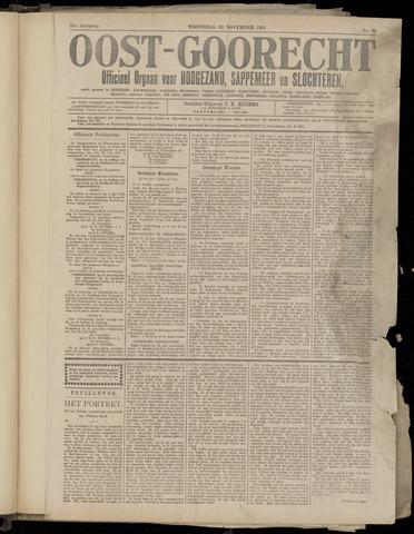 (Volksblad) Oost-Goorecht en Omstreken nl 1921-11-30