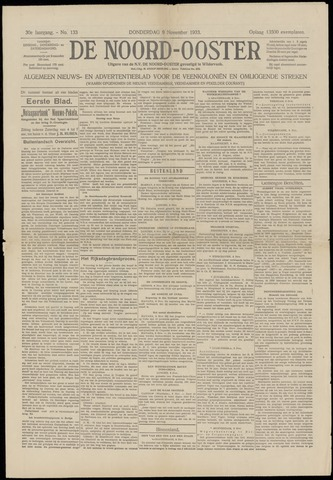 Nieuws- en Advertentieblad, De Noord-Ooster nl 1933