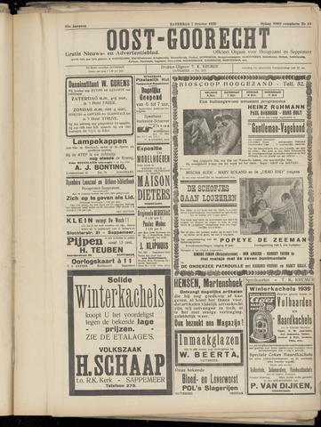 (Volksblad) Oost-Goorecht en Omstreken nl 1939-10-07