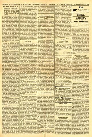 Nieuws- en Advertentieblad, Sappemeer nl 1941-04-19