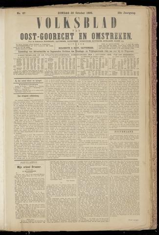 (Volksblad) Oost-Goorecht en Omstreken nl 1892-10-30