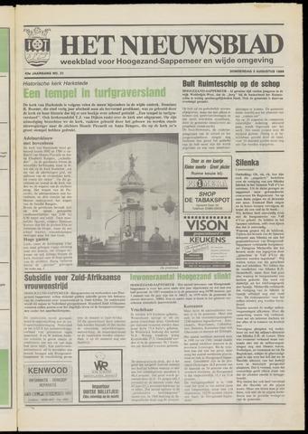 Het Nieuwsblad nl 1989-08-03
