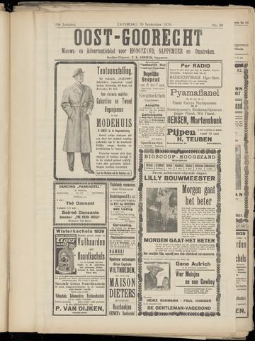 (Volksblad) Oost-Goorecht en Omstreken nl 1939-09-30