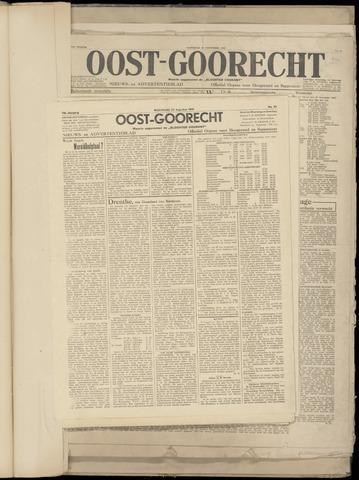 (Volksblad) Oost-Goorecht en Omstreken nl 1945-08-22